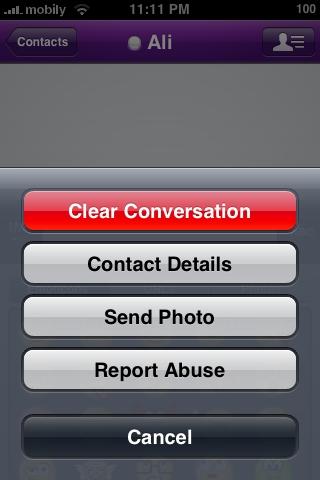 Contact Settings