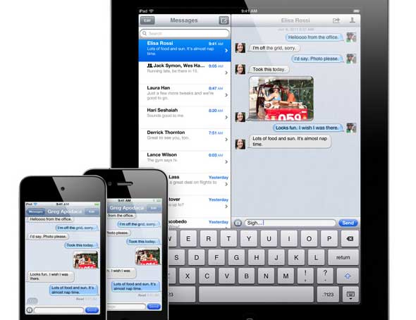 iOS5 iMessage